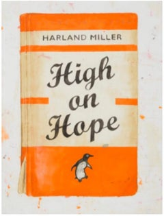 High on Hope screen print edition of 50  harland miller 2014
