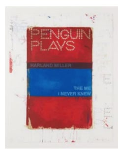 The Me I Never Knew 2013 screen print edition of 50 harland miller