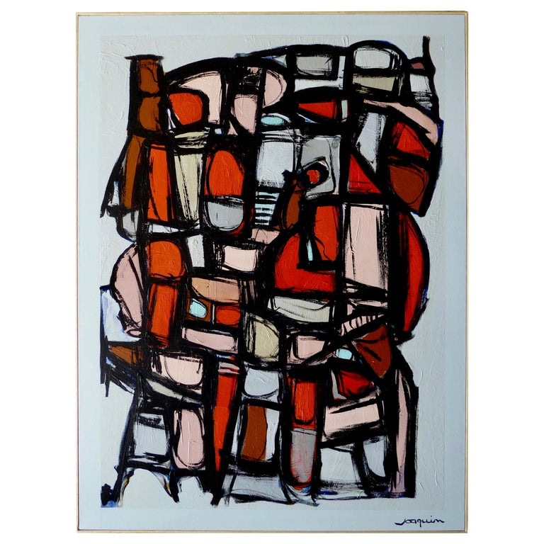 """""""Harlem Nights"""", an Original Painting by American Artist Kenneth Joaquin For Sale"""