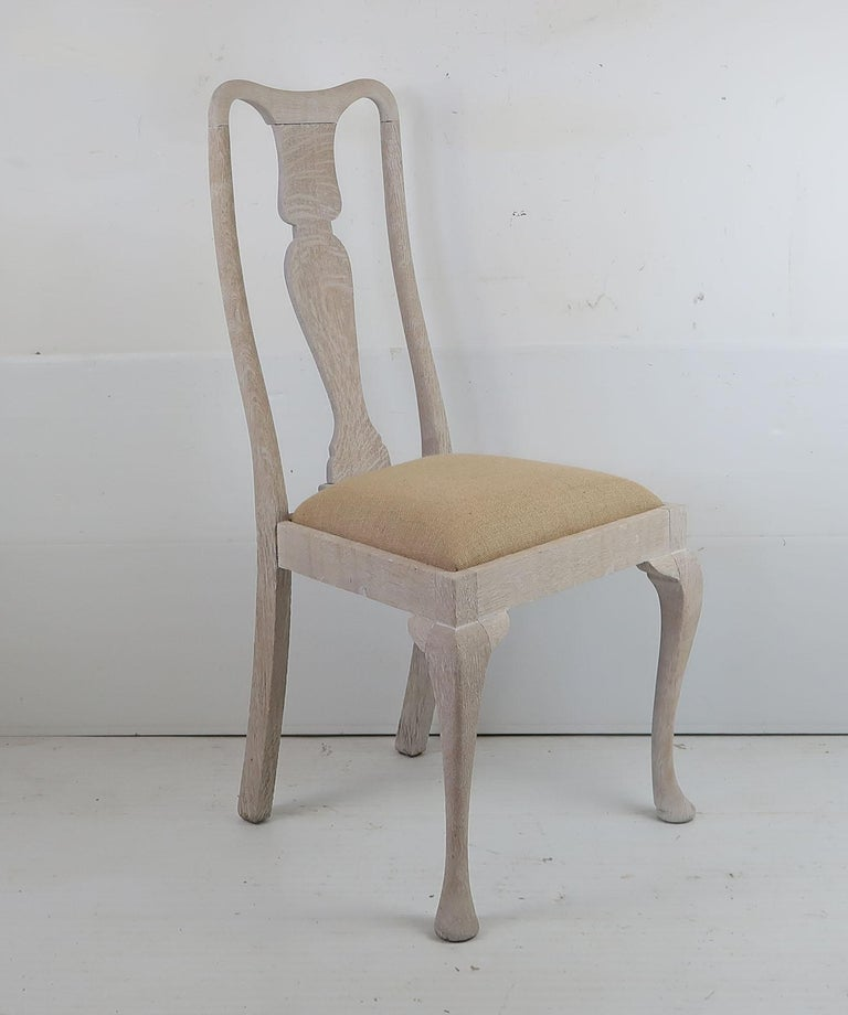 Harlequin Set of 10 Antique Gustavian Style Urn Back Dining Chairs In Good Condition For Sale In St Annes, Lancashire