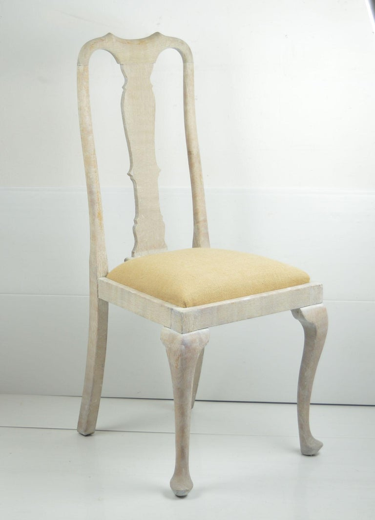 Harlequin Set of 10 Antique Gustavian Style Urn Back Dining Chairs For Sale 4