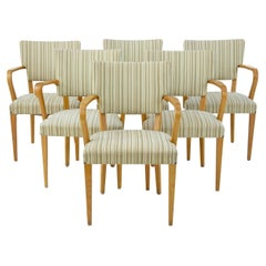 Harlequin Set of 6 Swedish 1960's Armchairs by Atvidabergs