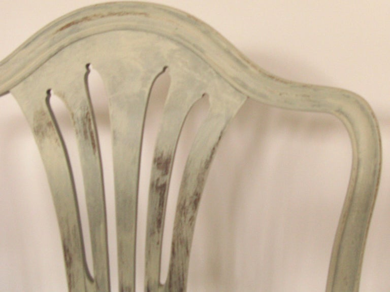 Harlequin Set of 8 Antique Chairs, Early 19th Century, England, Decorative In Good Condition In Oaksey, GB