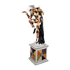 Harlequin Statue by Ceccarelli