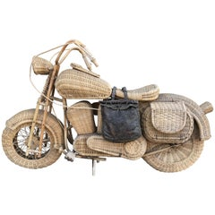 Harley Davidson in Wicker
