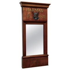 Harman & Son Outfitters Shop Advertising Wall Mirror