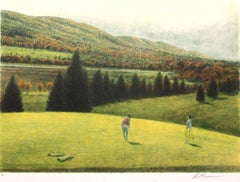 Golf I-Limited Edition Etching, Signed by Artist