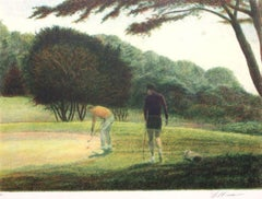 Golf II-Limited Edition Etching, Signed by Artist
