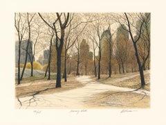 Morning Walk.  [Central Park.]