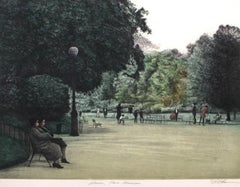 Women Parc Morceau-Limited Edition Etching, EA, Signed by Artist