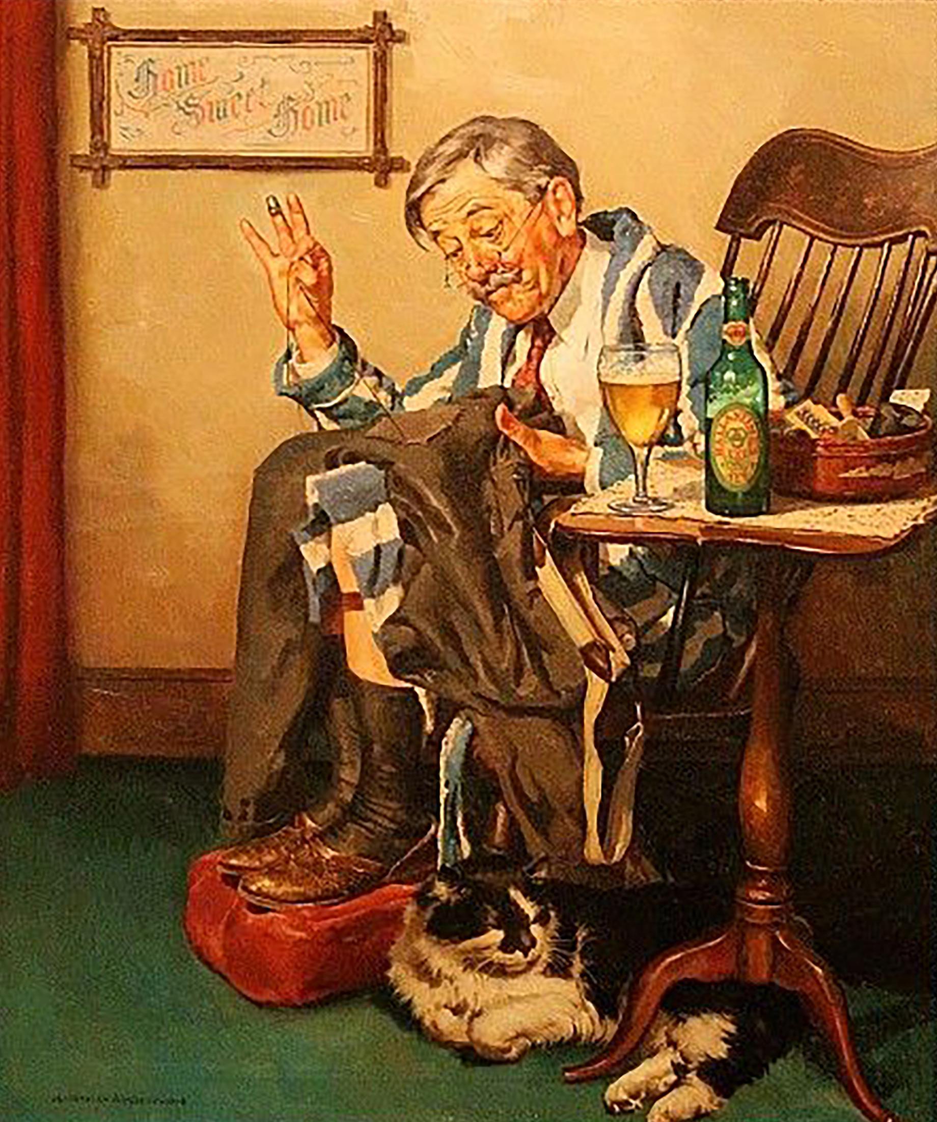 Ballentine Beer Advertisement