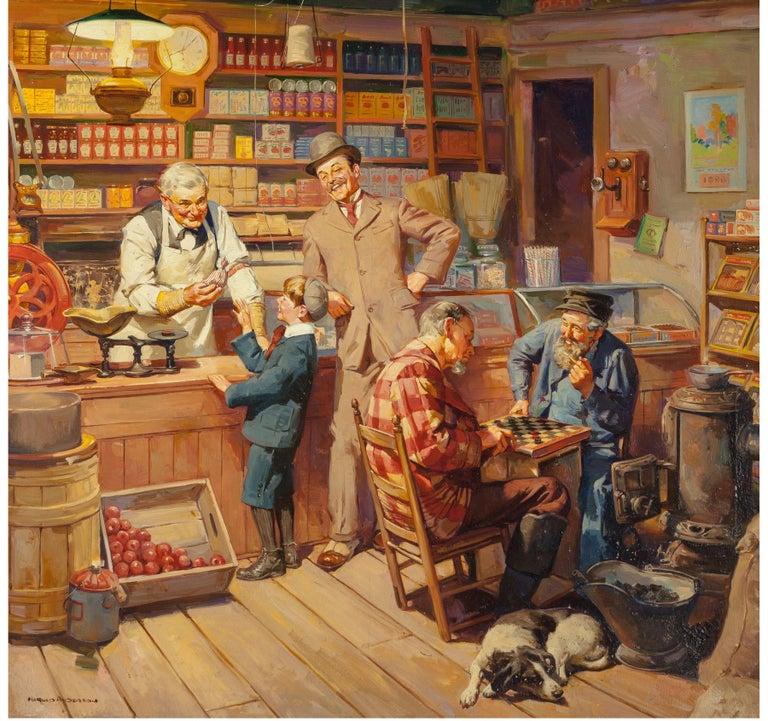 Harold Anderson Figurative Painting - H.J. Heinz Company Advertisement, Dec. 16, 1939