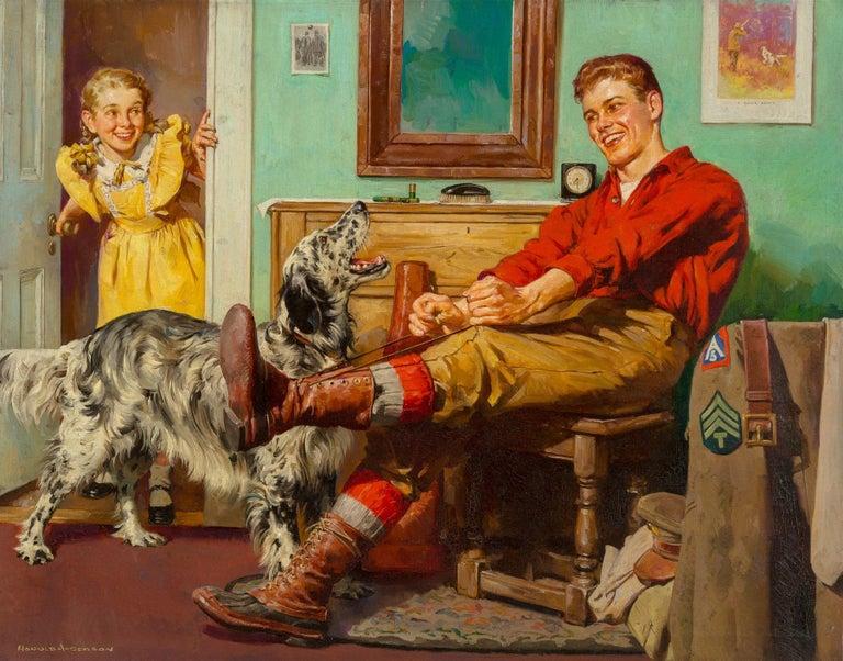 Harold Anderson Interior Painting - Homecoming