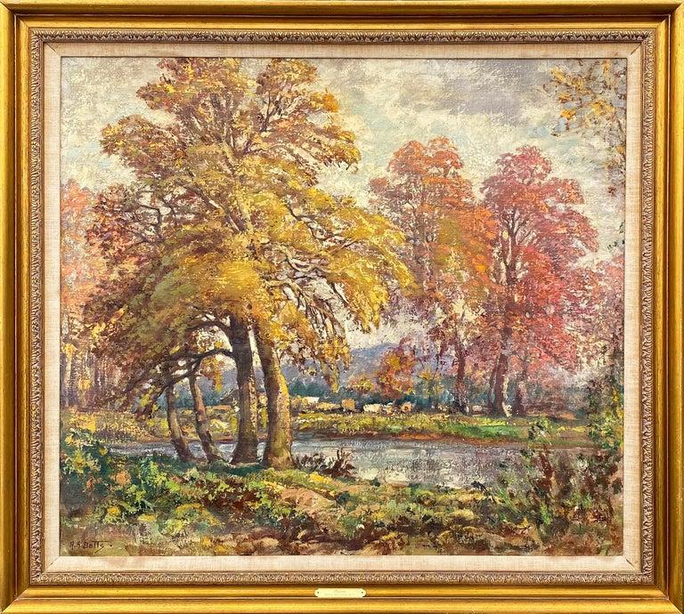 Autumn - Painting by Harold Harrington Betts
