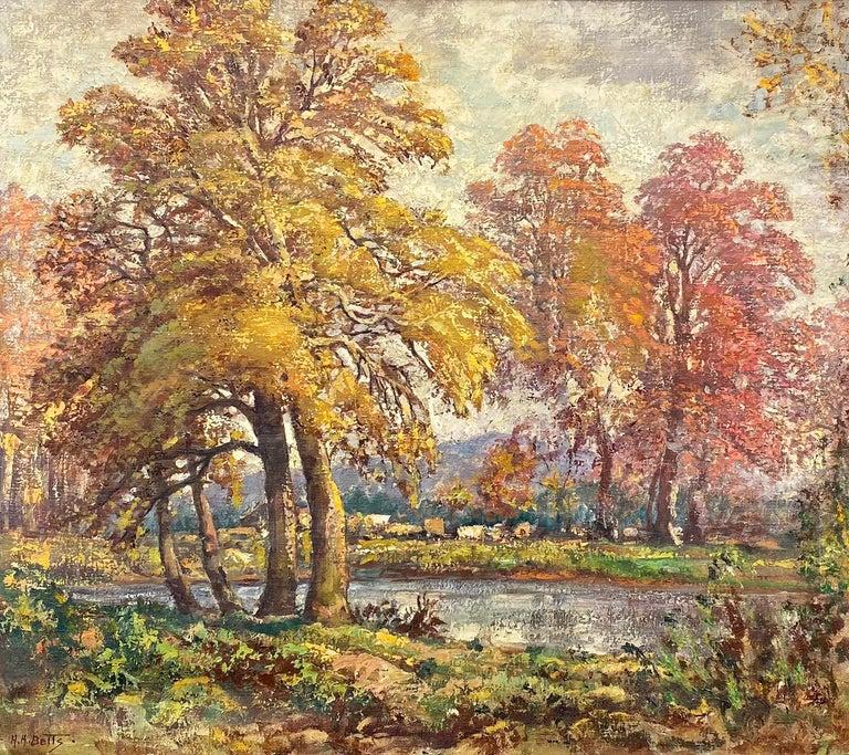 Harold Harrington Betts Landscape Painting - Autumn