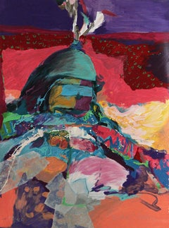 Koshare, Colorful Abstract by Harold Larsen