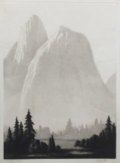 Etching Landscape Prints