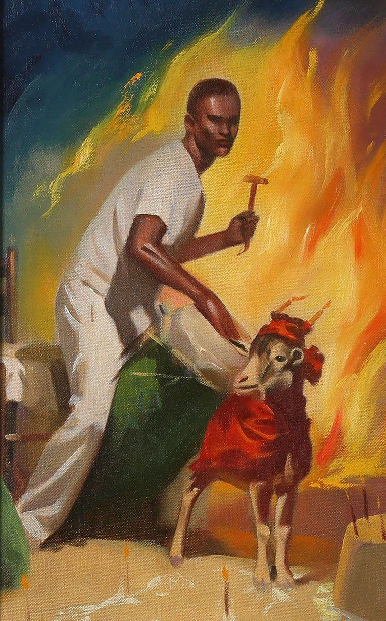 The Gods of Voodoo - Painting by Harold McCauley