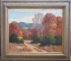 """""""Texas Hill Country Fall""""  Fall Colos orange, yellow, etc."""