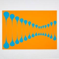 Orange Blue Stretch