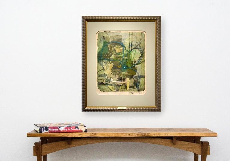 Sea Gardens - Modern Print by Harold Town