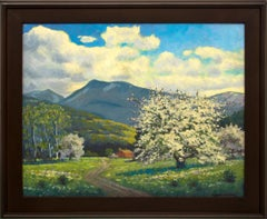 Apple Tree (Colorado Mountain Landscape, Blossoms, Spring on the Western Slope)