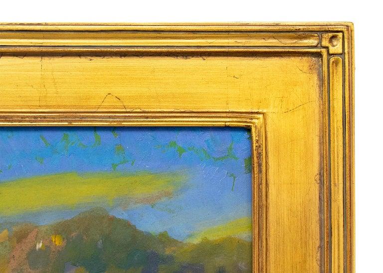 Camp Bird Mine, Ouray, Colorado, Mountain Landscape in Green, Yellow, Blue 1
