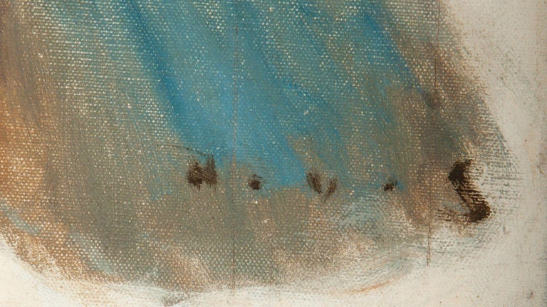 The Race - Beige Figurative Painting by Harold von Schmidt