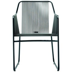 Harp Chair in Smoke Gray by Rodolfo Dordoni