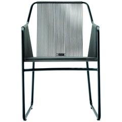 Harp Chair in Smoke Gray by Rodolfo Dordoni