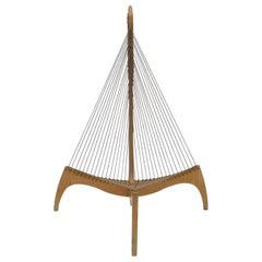 Harp String Chair by Jørgen Høvelskov Jorgen Hovelskov Harpchair Midcentury
