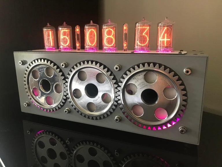 Harrier Jump Jet Nixie Clock