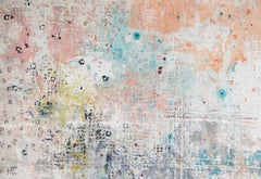 A. Delis, Pastel Coloured Abstract Contemporary Giclée Print, Affordable Art