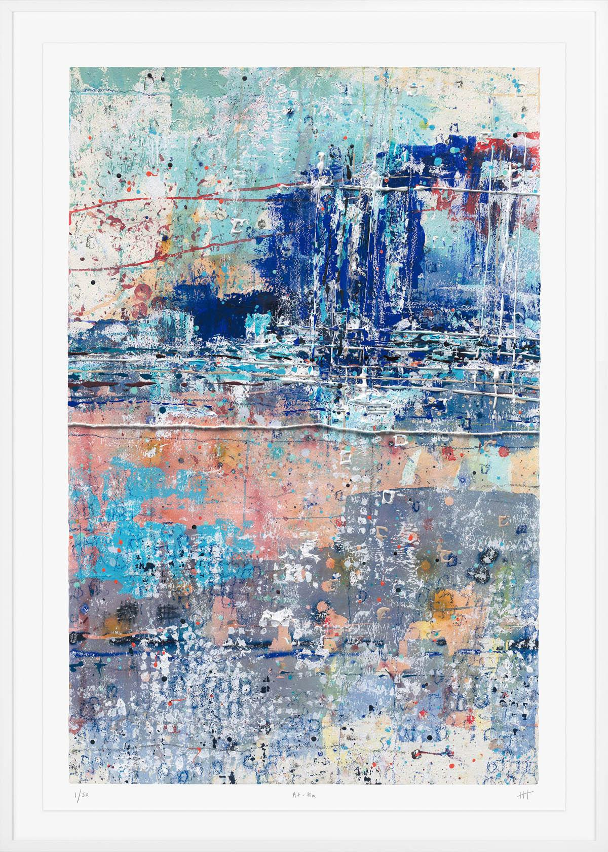 Harriet Hoult, At-Ha, Signed Limited Edition Print Abstract Print