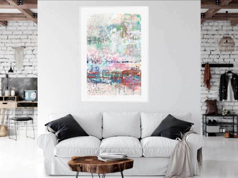 Walking the Loop, Harriet Hoult, Affordable Contemporary Abstract Art  For Sale 1