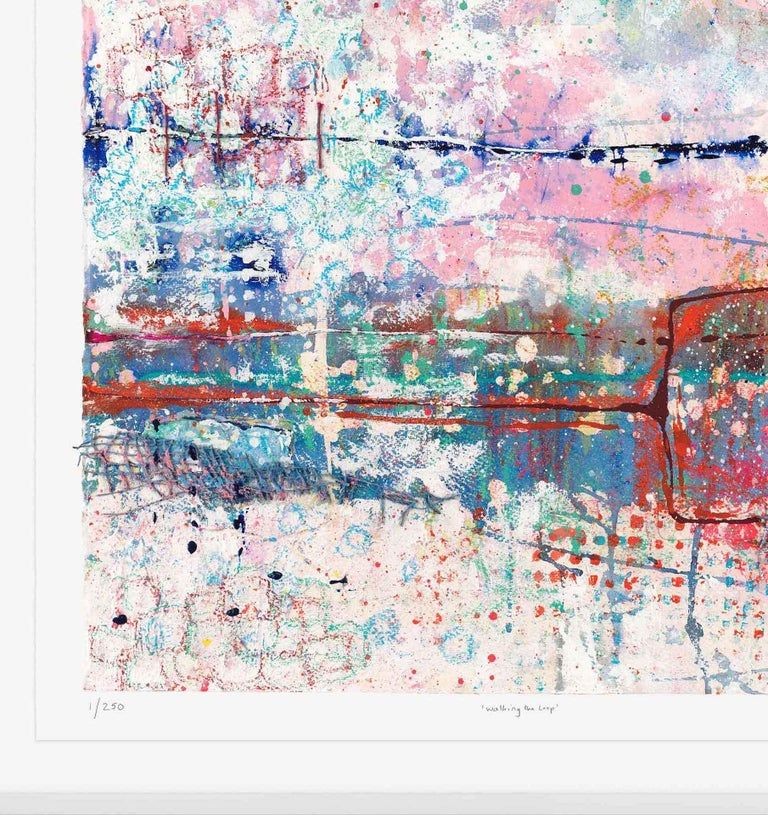 Walking the Loop, Harriet Hoult, Affordable Contemporary Abstract Art  For Sale 4