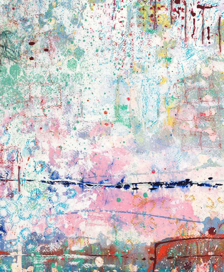 Walking the Loop, Harriet Hoult, Affordable Contemporary Abstract Art  For Sale 5