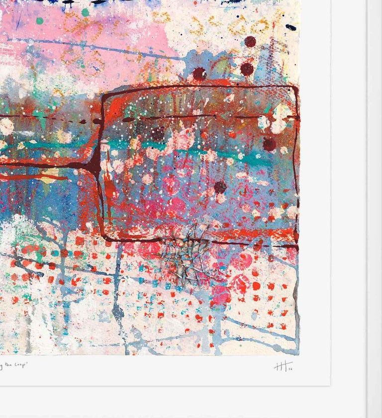 Walking the Loop, Harriet Hoult, Affordable Contemporary Abstract Art  For Sale 6