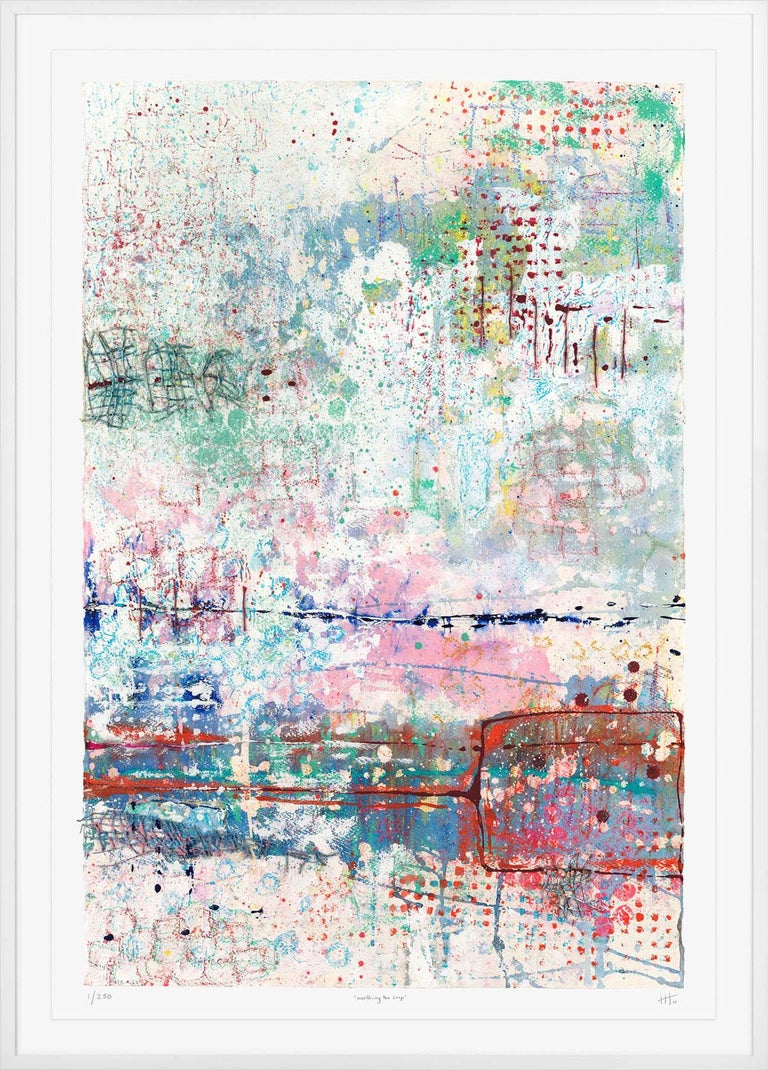Harriet Hoult Walking The Loop Limited Edition Giclee Print Edition of 250 Sheet Size: 91cm, x 63cm Signed by the artsit Sold Unframed Free Shipping  Walking the Loop is a limited edition giclée print of the original painting by Harriet Hoult. The