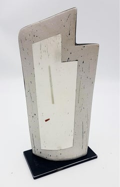 """Untitled Vessel with """"L"""" Shaped Opening (Contemporary Minimalism)"""