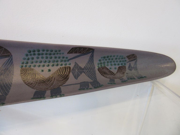Harris G. Strong Pottery Fish Tray / Serving Dish For Sale 1