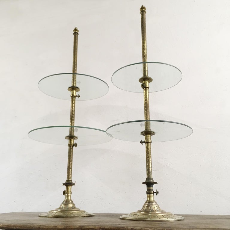 British Harris & Sheldon Edwardian Confectionary Shop Display Stands, 1910 For Sale