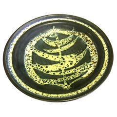 Harrison Mcintosh Signed Midcentury Ceramic Bowl with Original Studio Label