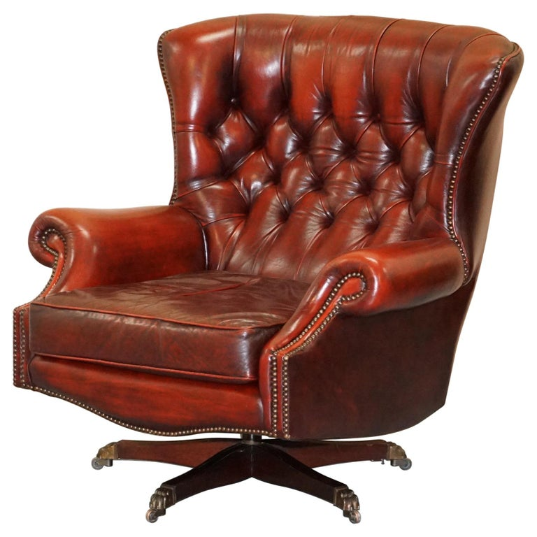 Pleasant Harrods London Oversized Oxblood Leather Wingback Library Office Reading Chair Caraccident5 Cool Chair Designs And Ideas Caraccident5Info