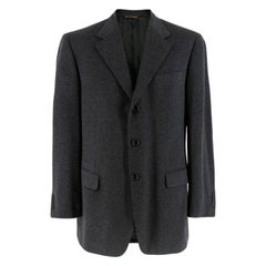 Harrods Wool & Cashmere by Loro Piana Charcoal Jacket  R52 XL