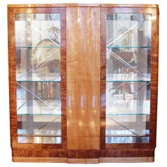 Harry and Lou Epstein Art Deco Display Cabinet