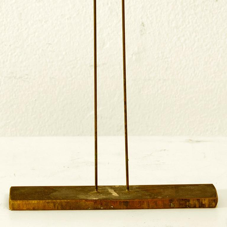 Small 2 Rods - Sculpture by Harry and Val Bertoia