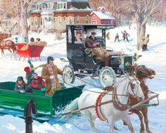 The Sound of Sleigh Bells, 1906 Reo Depot Wagon