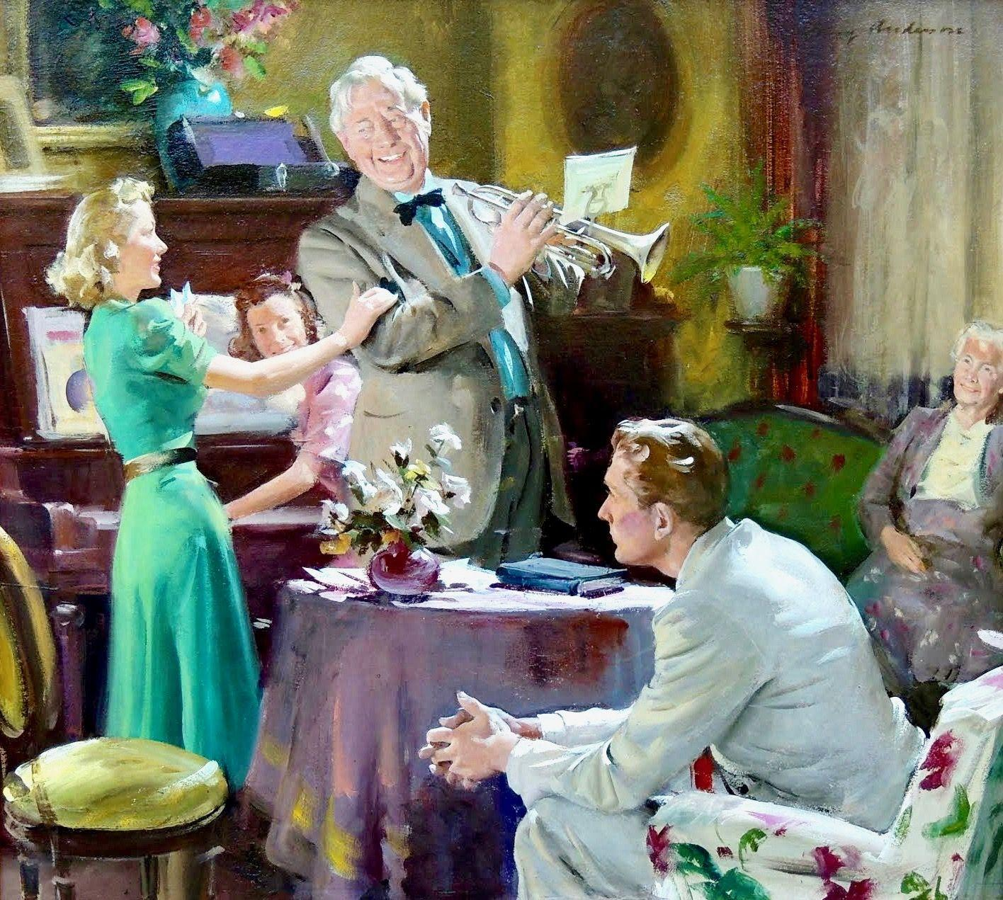 Weekend with the Family, Woman's Home Companion, 1940