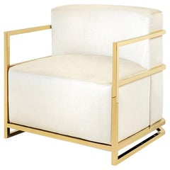 Harry Armchair in Gold Finish